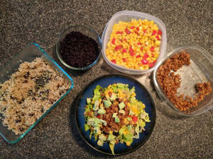 Skip the Tupperware and Try Buffet-Style Meal Prep!