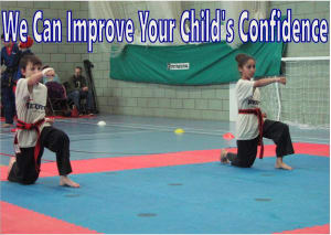 Kids Karate in Slough - KickFit Martial Arts Slough - Self Confidence