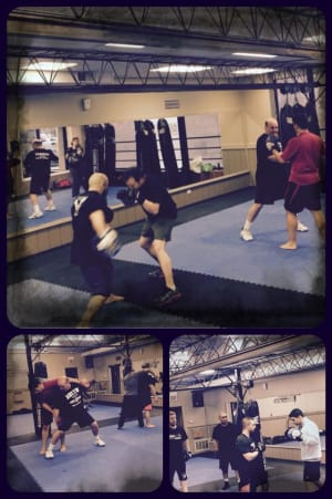 Krav Maga Chicago: Work Hard