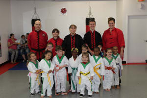 Kids Martial Arts in Rochester - Rochester Kung Fu And Fitness - Congratulations Ninjas