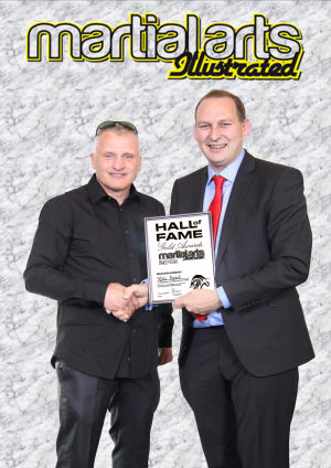 Chief Instructor Mike Beard inducted into the Martial Arts Hall Of Fame 2015