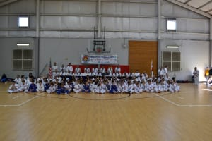 April Black belt exam