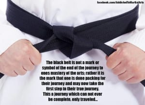 Black Belt and Beyond
