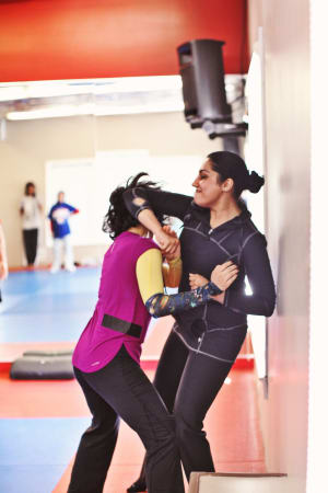 Womens Only Class for Krav Maga Chicago