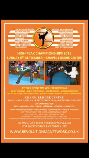 Revolution High Peak Championships