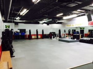 New Floor in Main Dojo
