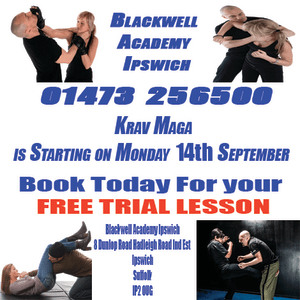 Kids Karate in Ipswich - Blackwell Academy - Krav Maga  Starting on the 14th September