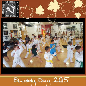 Kids Martial Arts in Davie and Cooper City - Traditional Taekwon-Do Center Of Davie - Buddy Day was a BLAST!!!!!