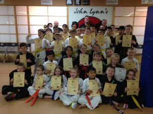 Children's Karate Grading Results