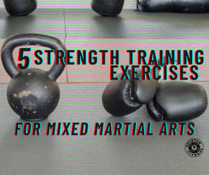 5 Important Strength Training Exercises for Mixed Martial Arts
