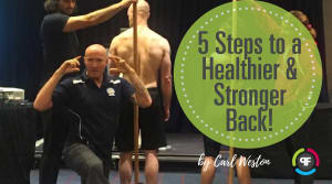 Personal Training in Burlington - push!FITstudio - 5 Steps to a Healthier & Stronger Back!