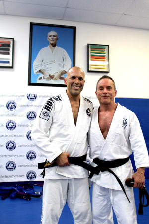 Master Campbell awarded Gracie Jiu-Jitsu Black Belt