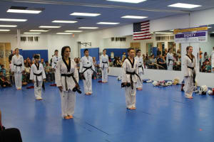 Harmony's New Black Belts