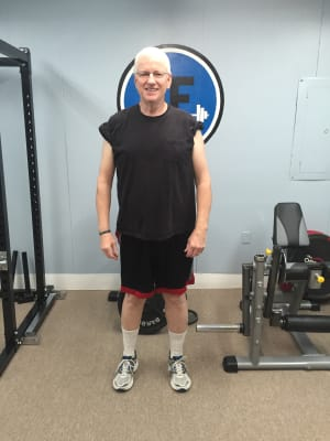 Personal Training in Concord - Individual Fitness -  January 2016 Client of the Month- Bob Warde