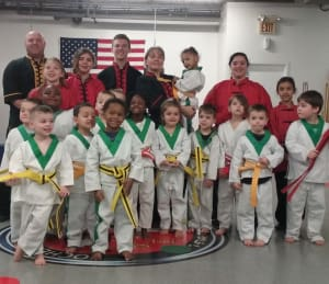 Kids Martial Arts in Rochester - Rochester Kung Fu And Fitness - Congratulations Little Ninja's on you Graduation