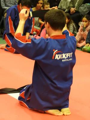 Kids Karate in Slough - KickFit Martial Arts Slough - Renshi Howton 4th Dan Graduation