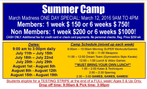 Kids Karate in Philadelphia - Amerikick Martial Arts Northeast Philly - Summer Camp 2016