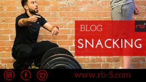 Personal Training in Nottingham - rb5 Personal Training - Snacking Yourself Thin - Rb5 Personal Training Nottingham Tools