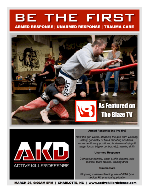 Kids Martial Arts in Charlotte - FTF® Fitness and Self-Defense - Active Killer Defense Training Debuts in Charlotte