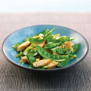 Personal Training in Concord - Individual Fitness - Ginger Chicken with Snow Pea Salad
