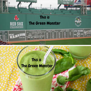 Personal Training in Concord - Individual Fitness - Green Monster Shake