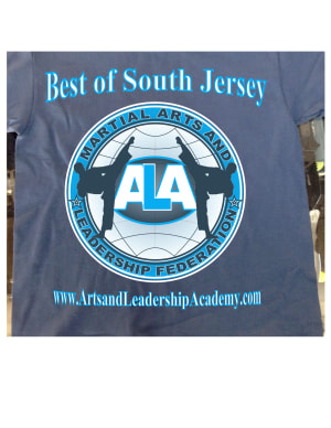 Kids Martial Arts in Cherry Hill - Arts and Leadership Academy - 2016 T Shirts