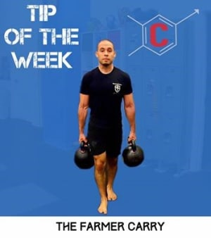 Tip of the Week: The Farmer Carry -  Personal Training in Midtown NYC