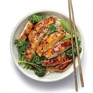 Personal Training in Concord - Individual Fitness - Asian Lemon Chicken Teriyaki Rice Bowl