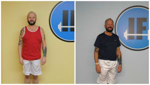 Personal Training in Concord - Individual Fitness - June 2016 Client of the Month - Philip Burt