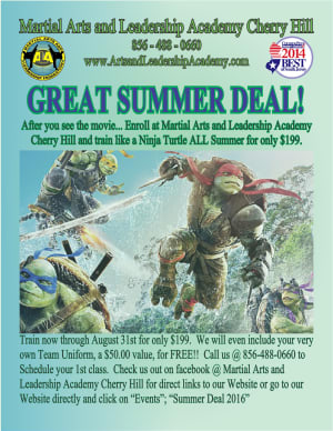 Kids Martial Arts in Cherry Hill - Arts and Leadership Academy - SUMMER DEAL 2016