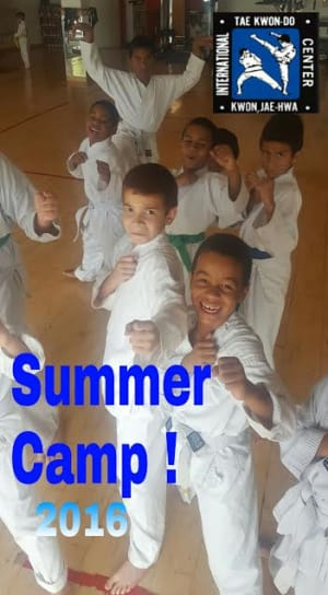 Kids Martial Arts in Davie and Cooper City - Traditional Taekwon-Do Center Of Davie - Summer Camp 2016!