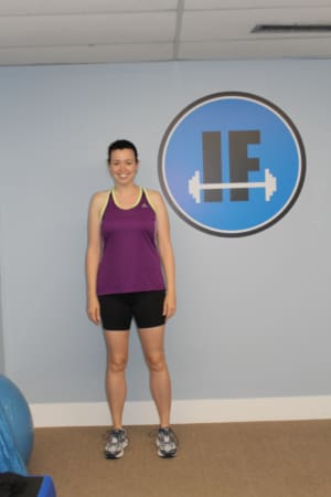 Personal Training in Concord - Individual Fitness - July Client of the Month - Mary Noce