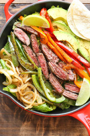 Personal Training in Concord - Individual Fitness - Steak Fajita Salad