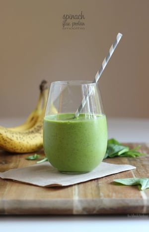 Personal Training in Concord - Individual Fitness - IFD August 25th, 2016 - Spinach Flax Protein Smoothie