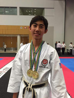 Kids Karate in Mesa - Shotokan Karate of Arizona - Youth from Gilbert Arizona take two golds at World Karate Championships | Teen Karate - Shotokan Karate