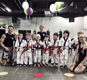 Kids Martial Arts in Boulder - Tran's Martial Arts And Fitness Center - Congrats August Lil Dragons Belt Promoters!