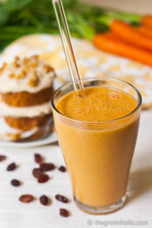 Personal Training in Concord - Individual Fitness - Carrot Cake Protein Smoothie