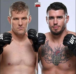 UFC NEWS: Chris Camozzi fights Daniel Kelly in Australia 11/26!