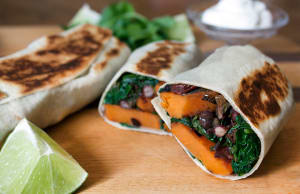 Personal Training in Concord - Individual Fitness - Sweet Potato and Black Bean Burrito