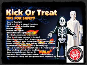 Kids Karate in Mesa - Shotokan Karate of Arizona - Halloween Safety Tips