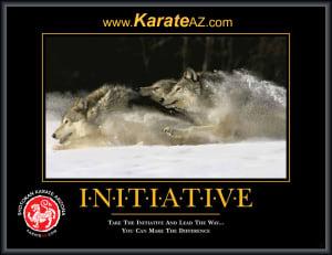 Kids Karate in Mesa - Shotokan Karate of Arizona - Leadership - Initiative
