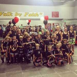 Kids Martial Arts in Boulder - Tran's Martial Arts And Fitness Center - Congrats Junior Muay Thai Belt Promoters!