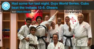 Kids Karate in Mesa - Shotokan Karate of Arizona - Dojo Baseball World Series