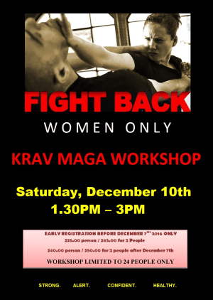 Self Defense Seminar for Women only