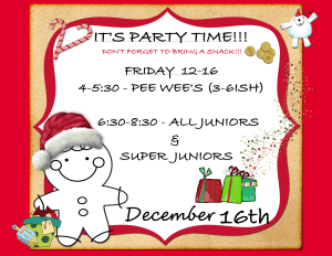 in Albertson - Taecole Tae Kwon Do & Fitness - KIDS HOLIDAY PARTY!