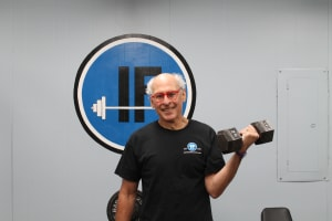"Personal Training in Concord - Individual Fitness - December 2016 Client of the Month - Steve ""Flash"" Gordon"