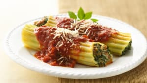 Personal Training in Concord - Individual Fitness - Turkey and Spinach Manicotti