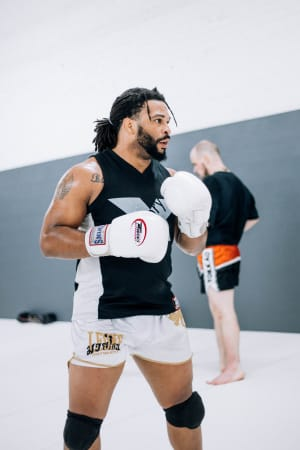 in 	 Chicago - Mission MMA And Fitness - Brian Rogers at Mission MMA and Fitness