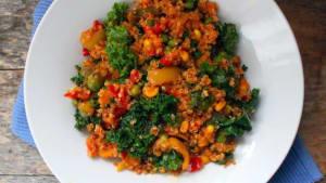 Group Fitness  in San Diego - Corebody Pilates Plus - [Recipe] Quinoa Stir Fry