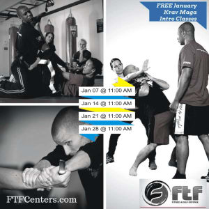 Free Krav Maga Trial classes